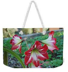 Red Flower 1 Weekender Tote Bag