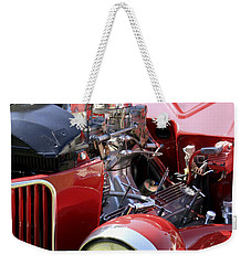 Red Ford Weekender Tote Bag