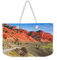 Red Hills Of The Gros Ventre Weekender Tote Bag