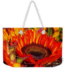 Red Hot  Weekender Tote Bag