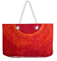 Red Kachina Original Painting Weekender Tote Bag