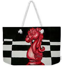 Red Knight Weekender Tote Bag