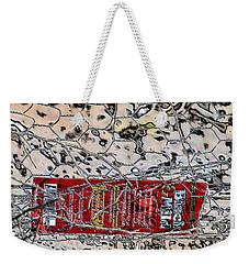 Red Label Weekender Tote Bag