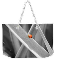Red Ladybird Weekender Tote Bag