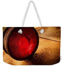 Red Light Weekender Tote Bag