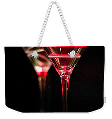 Red Martini Weekender Tote Bag by Spencer McDonald