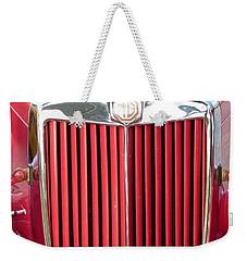 Red Mg Weekender Tote Bag