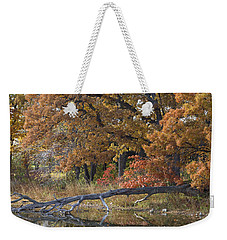 Red Oaks On The Shore Weekender Tote Bag