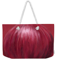 Red Onion Weekender Tote Bag by Brian James