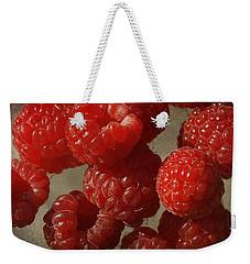 Red Raspberries Weekender Tote Bag