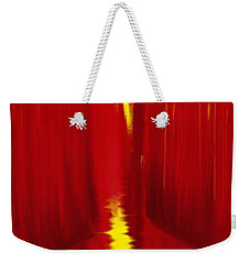 Red Reed River Weekender Tote Bag by Anita Lewis