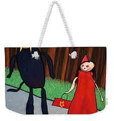 Red Ridinghood Weekender Tote Bag