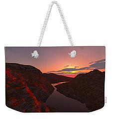 Red River... Weekender Tote Bag