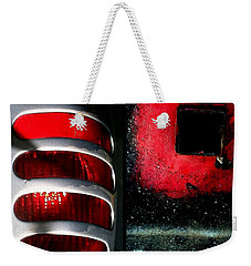 Red Road Rage Weekender Tote Bag