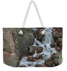 Red Rock Falls Weekender Tote Bag