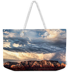 Red Rocks Of Sedona Weekender Tote Bag