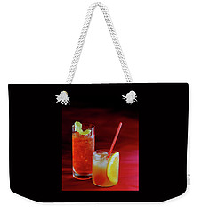 Red Rocktails Weekender Tote Bag