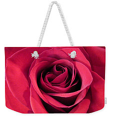 Red Rose Christmas Love Weekender Tote Bag