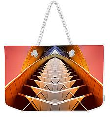 Red Shift Weekender Tote Bag by Wayne Sherriff
