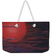 Red Sky A Night Weekender Tote Bag by Michelle Joseph-Long