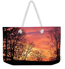 Red Sky At Night Sailor's Delight Weekender Tote Bag