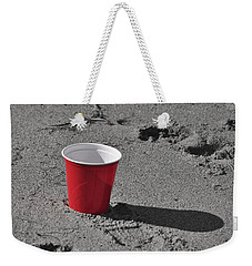 Red Solo Cup Weekender Tote Bag by Trish Tritz
