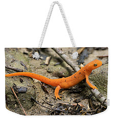 Red-spotted Newt Weekender Tote Bag