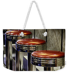 Red Stools Weekender Tote Bag