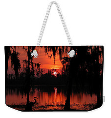 Red Swamp Weekender Tote Bag