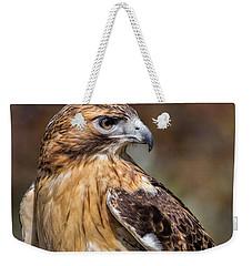 Red Tail Hawk Weekender Tote Bag by Dale Kincaid