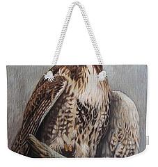Red Tail Hawk Weekender Tote Bag
