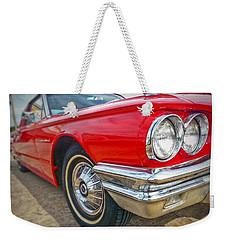 Red Thunderbird Weekender Tote Bag