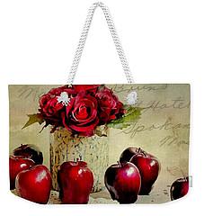 Red To Red Weekender Tote Bag