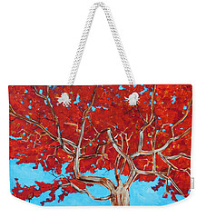 Red Tree Wip Weekender Tote Bag