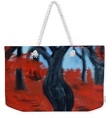 Red Trees Weekender Tote Bag