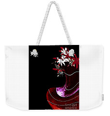 Red Vase Weekender Tote Bag