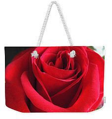 Red Velvet Weekender Tote Bag