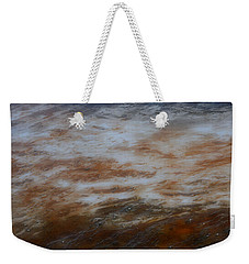 Weekender Tote Bag featuring the photograph Red White And Blue by Nadalyn Larsen
