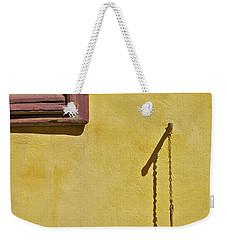Red Window Shutter Of Tuscany Weekender Tote Bag