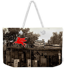 Red Winged Horse Weekender Tote Bag by Leticia Latocki