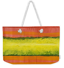 Red Yellow And Green Weekender Tote Bag
