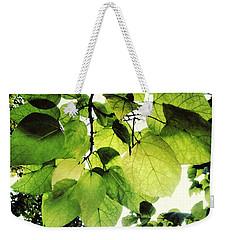 Catalpa Branch Weekender Tote Bag