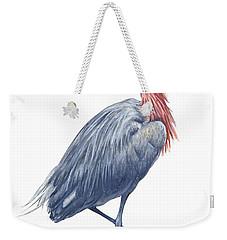 Reddish Egret Weekender Tote Bag by Anonymous