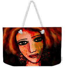 Redhead Weekender Tote Bag by Natalie Holland