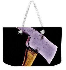 Redrum Weekender Tote Bag by Benjamin Yeager