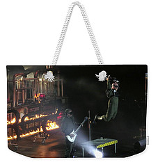 Red's Lead Singer Can Fly Weekender Tote Bag by Aaron Martens