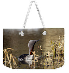 Redthroated Loon Weekender Tote Bag