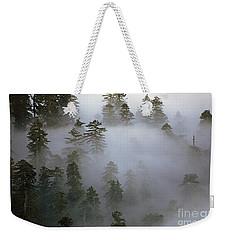 Redwood Creek Overlook With Giant Redwoods  Weekender Tote Bag