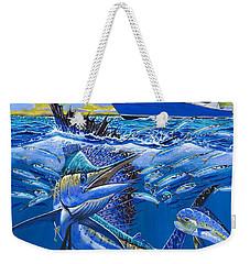 Reef Sail Off00151 Weekender Tote Bag by Carey Chen