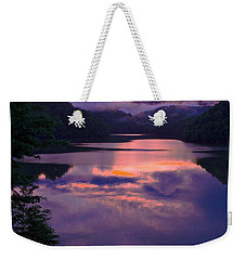 Reflected Sunset Weekender Tote Bag